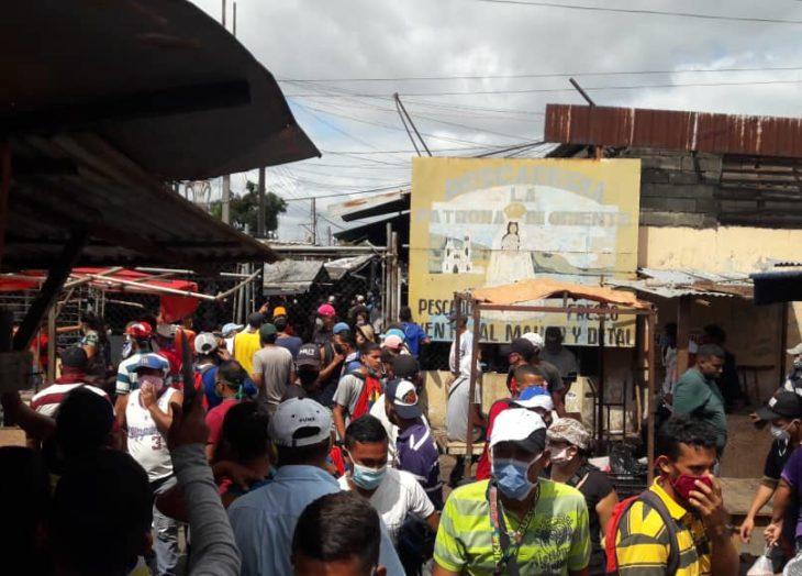 Mercado de Chirica en San Félix