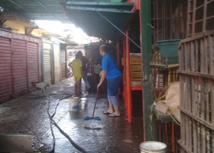 Saneamiento en Piar