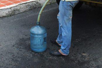 Servicio de agua en Bolívar