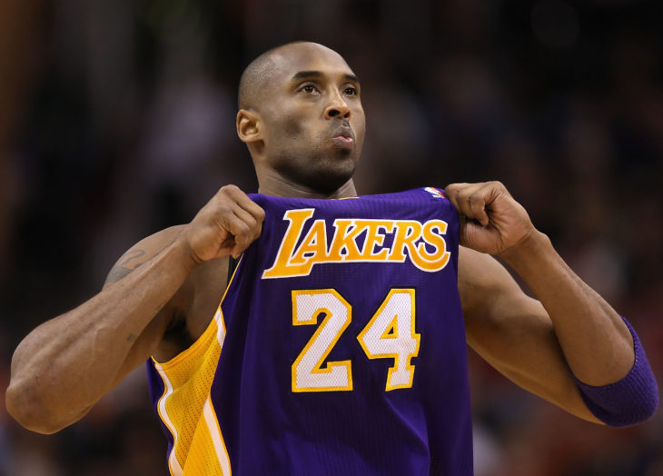 Hay suficiente material para serie documental de Kobe Bryant