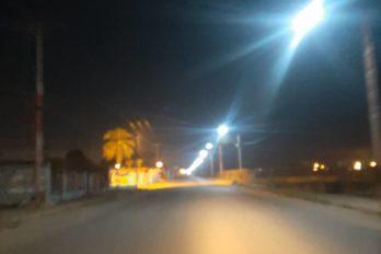 Calles desoladas en Caicara