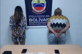 Detenidas por droga