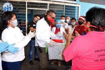 Gobernación distribuye tapabocas y alcohol. Las entregas se realizaron en hospitales y alcaldías de Bolívar.