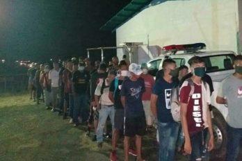 Retenidas 700 personas por incumplir cuarentena. La cifra es el resultado de los operativos se implementados durante el fin de semana en el municipio Caroní.