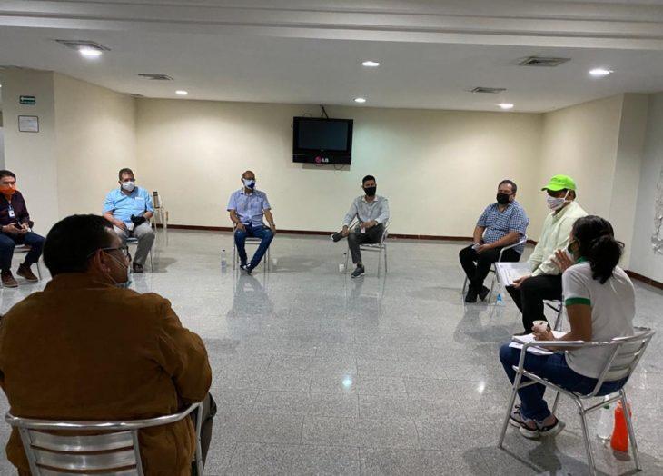 Reunión de comerciantes
