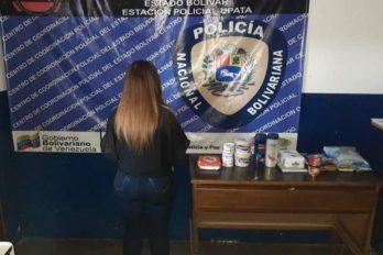 Capturan a segunda mujer por hurto en farmacia. En menos de 24 horas han detenido a dos presuntas integrantes de una banda delictiva.