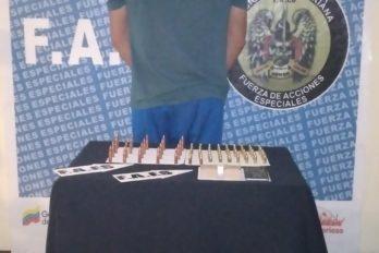 Preso por venta ilegal de municiones