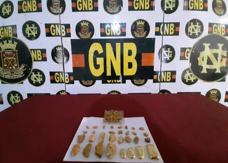 GNB retiene oro en La Romana