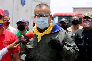 Gobernador Justo Noguera recibe hospital de campaña