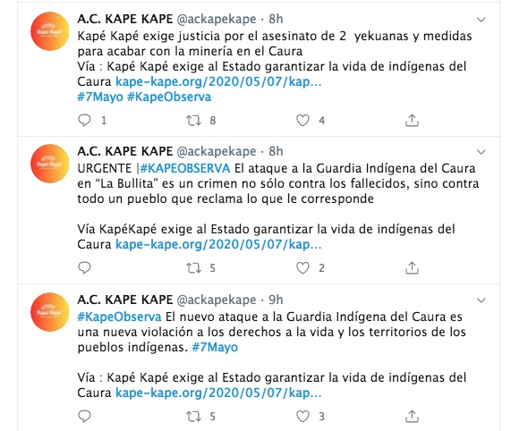 Denuncia Kapé Kapé