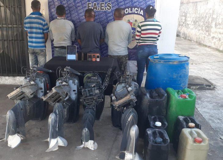 Detenidos por tráfico de combustible
