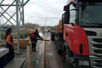 Permanece control sanitario en el peaje norte del Puente Angostura