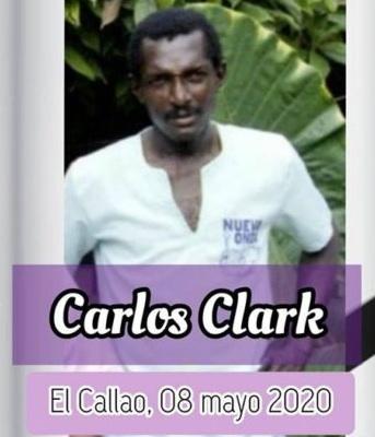 Muerte de Carlos Clark