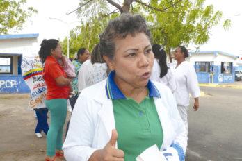 Maritza Moreno: No tenemos nada que celebrar en el Día de la Enfermería