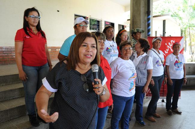 Díaz: El pueblo se ha organizado en defensa de la patria