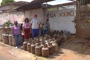Venta de gas den Río Yocoima