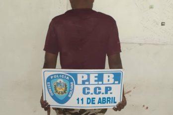 Comunidad golpeó a presunto ladrón en Las Batallas