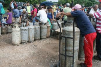 Cilindros de 18 y 43 kilos de gas doméstico no entran en las jornadas comunitarias