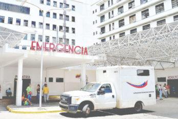 Presunto ladrón agonizó en la sala de emergencias del hospital de Ciudad Bolívar