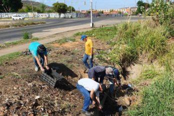 Comunidad de Camino Real solicita apoyo para limpieza de drenajes