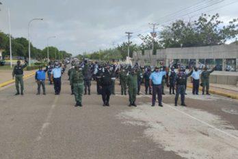 Despliegue Cívico - Militar - Policial en Angostura del Orinoco