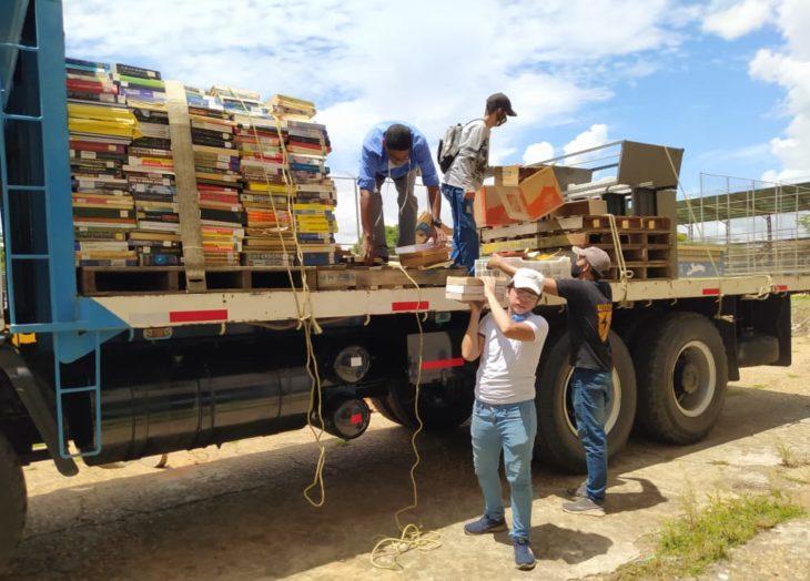 Resguardan más de 4 mil libros en la UDO Ciudad Bolívar