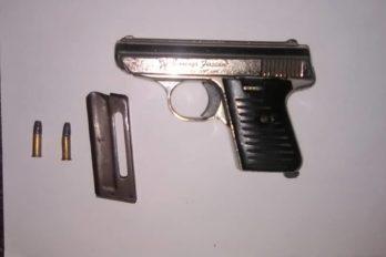 Arma recuperada