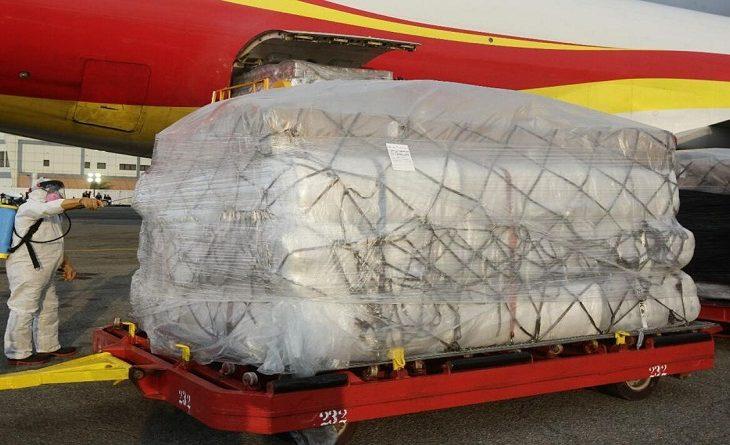 Arriba a Venezuela sexto cargamento de ayuda humanitaria de China