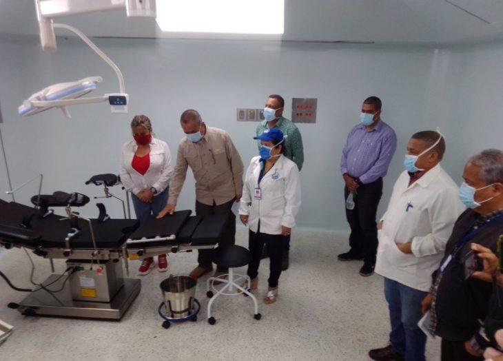 Gobernador Justo Noguera inspeccionó Hospital Uyapar
