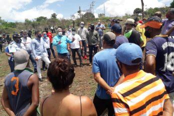 Minec Bolívar y gobernación inspeccionaron ocupación ilegal en Cerro Roberto