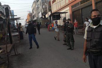 Organismos de seguridad resguardan mercados de San Félix