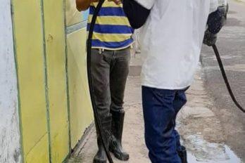 Barrio Guayana agradece reparación de tuberías colapsadas