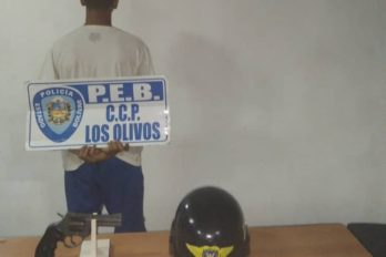 Policía estadal arresta a joven por porte ilícito