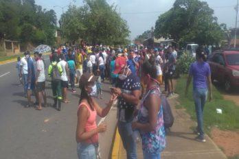 Colinas de Unare protesta por gas doméstico