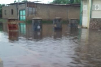 Fuertes lluvias inundaron Las Teodokildas