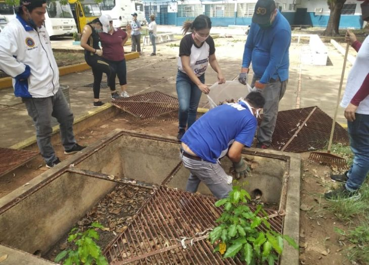 Inician jornadas de limpieza y recuperación en UDO Bolívar