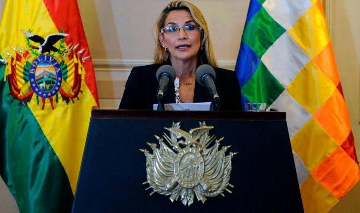 Presidenta Jeanine Áñez confirmó que padece COVID-19 y guardará cuarentena — Bolivia