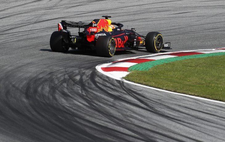 'Checo' Pérez, tercero en segundas prácticas en Austria