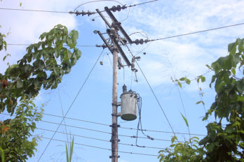Fallas eléctricas en San Félix