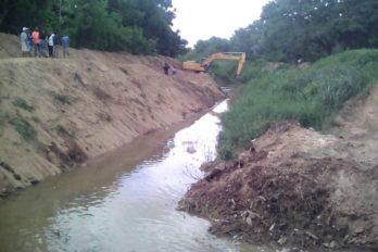 Inicia segunda fase de canalización del río Cañafístola