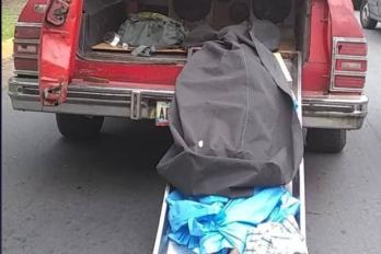 Libertad plena para hombre que exhibió cadáver como protesta en una E/S