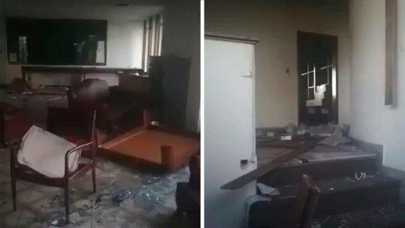 Venezuela denuncia vandalización de su consulado en capital colombiana