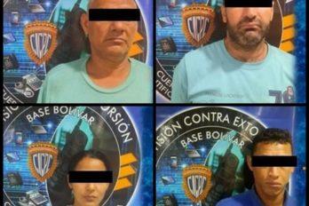 Presos por robo de camiones en Bolívar, Anzoátegui y Monagas