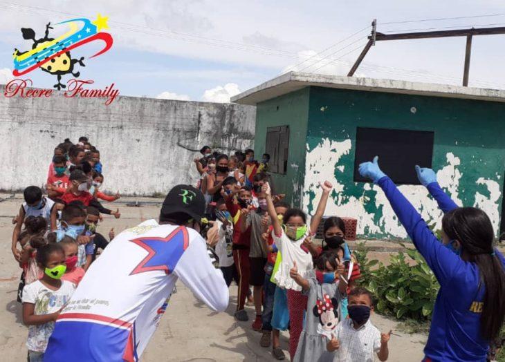 """""""Arepazo Feliz"""" alegró a más de 400 niños en su día"""