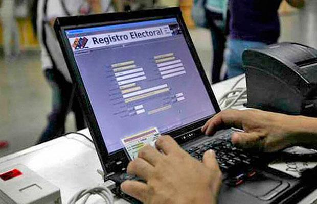 Jornada del Registro Electoral culminó este miércoles 29