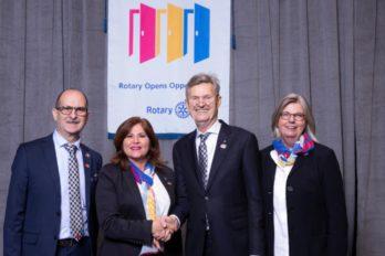 Distrito 4370 del Rotary cambió de gobernación con la misma misión de servir