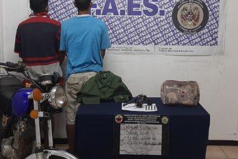 """Dos detenidos """"por aprovechamiento"""" en San José de Chirica"""