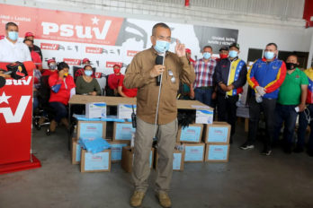 Justo Noguera: Con el PSUV vamos a la calle a combatir el Covid-19