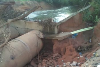 Urbanizaciones exigen ayuda ante riesgo de derrumbe por lluvias