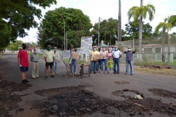 """Campo B de Ferrominera protesta """"millonaria reparación"""" de cableado eléctrico"""